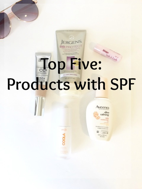top-five-products-with-spf